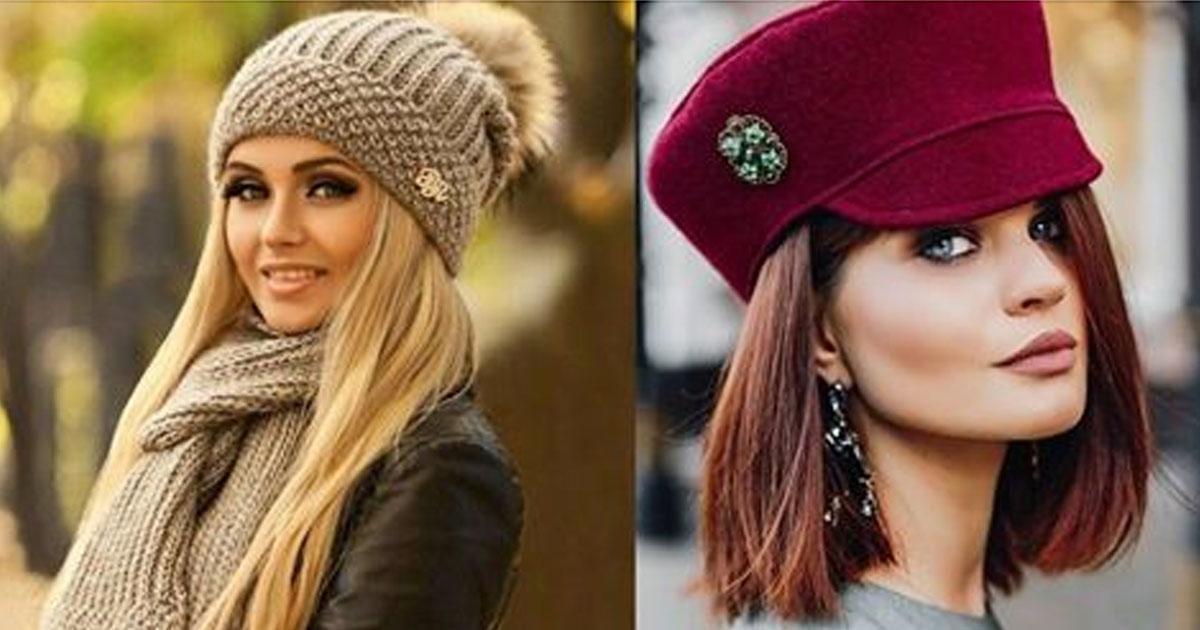 Вязание модных шапок 2016 года 590